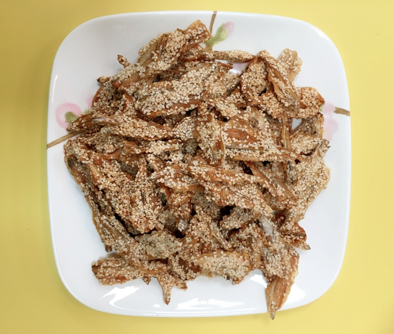 Anchovies Sesame Fish